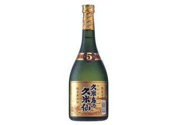 久米島の久米仙 ブラック5年 古酒
